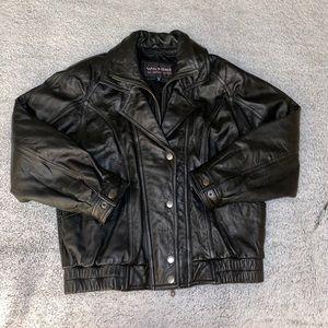 Wilson's Leather Men Moto Jacket
